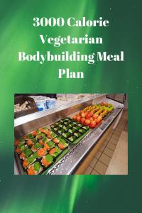 3000 Calorie Vegetarian Bodybuilding